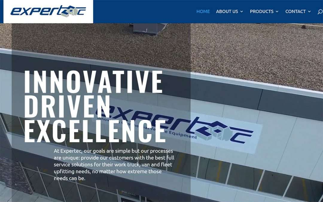 Expertec New Website Launch