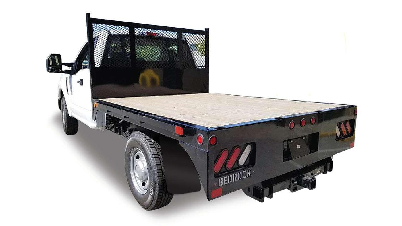 Bedrock Truck Beds Wood Surface Flatdeck