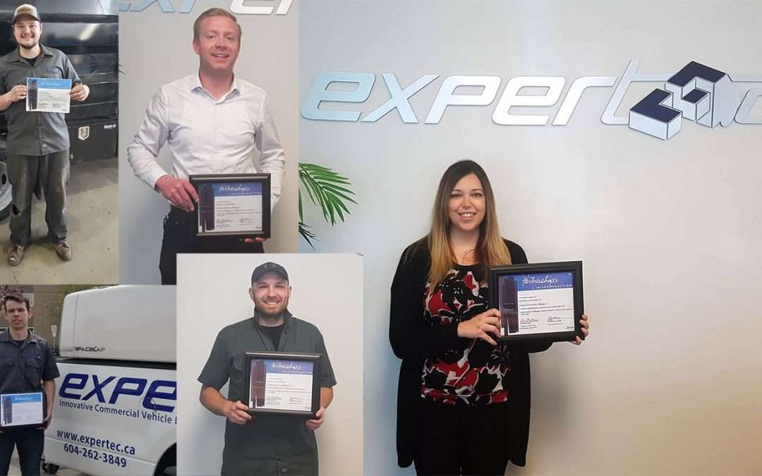Time to Celebrate! Expertec Receives OHS Certificate of Recognition