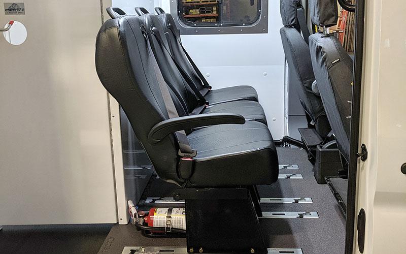 Abilitrax Cam Lock Crew Van Seats
