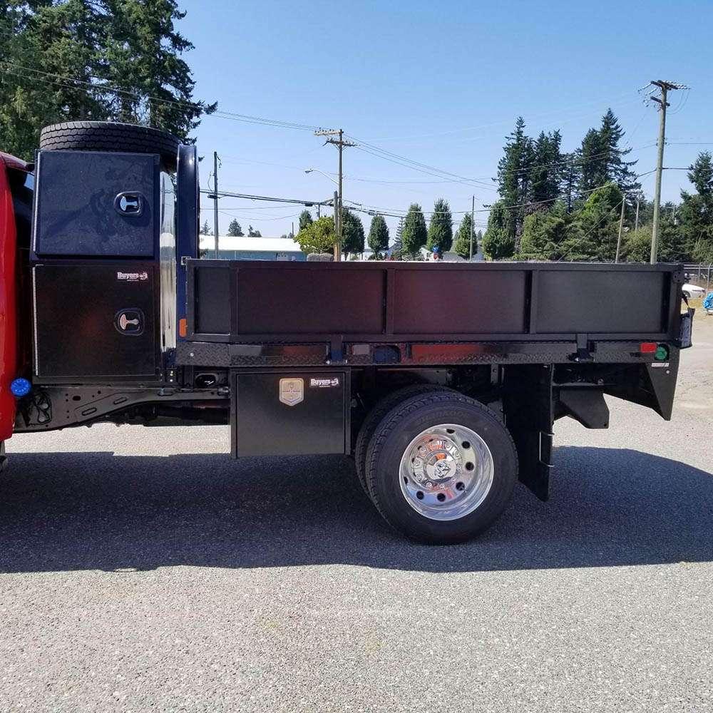 Flat Deck Truck Beds