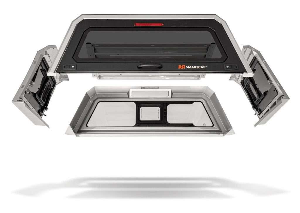 SmartCap EVOc Modular Truck Canopy System