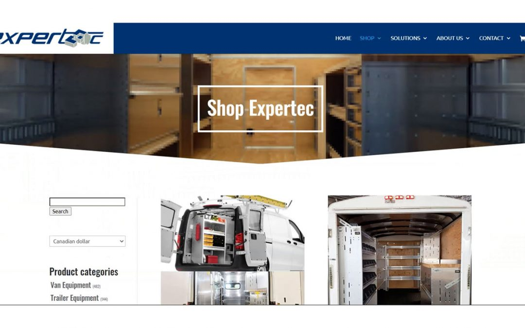 Launch of the Expertec Online Shop