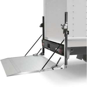 Tommy Gate Hydraulic Railgate Lift For Flat Bed Trucks & Cube Vans Aluminum Platform