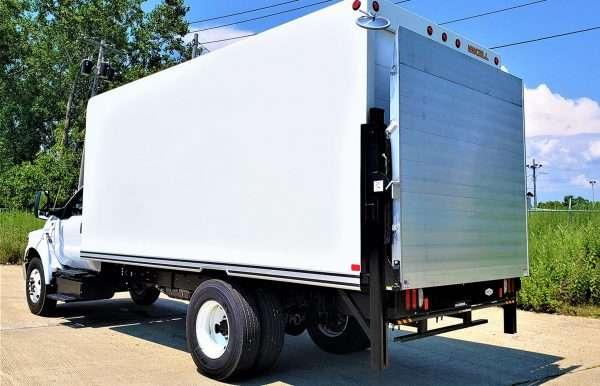 Tommy Gate Hydraulic Railgate Lift For Flat Bed Trucks & Cube Vans Aluminum Platform