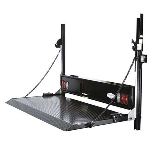 Tommy Gate Hydraulic Railgate Lift For Flat Bed Trucks & Cube Vans Steel Platform