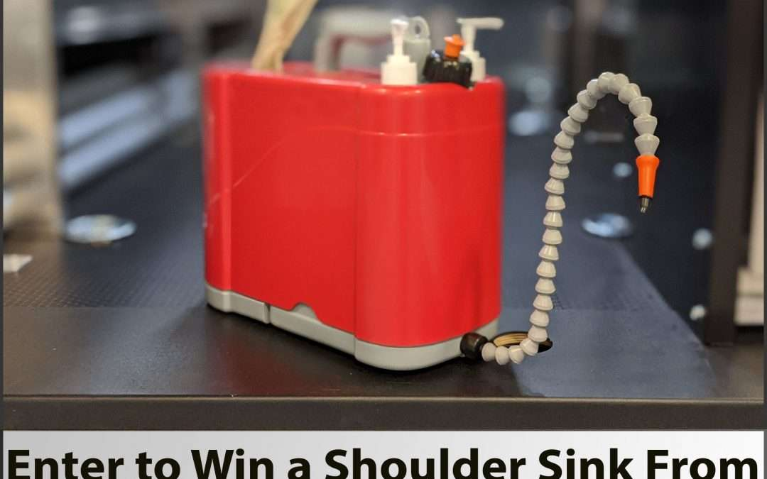 Clean Up Your Act – With Our Shoulder Sink Giveaway!