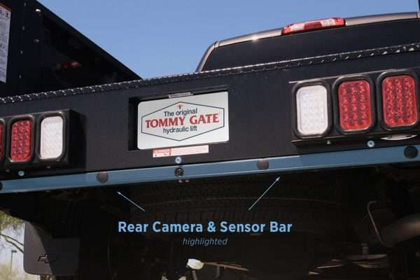 Tommy Gate Rear Camera And Sensor Bar