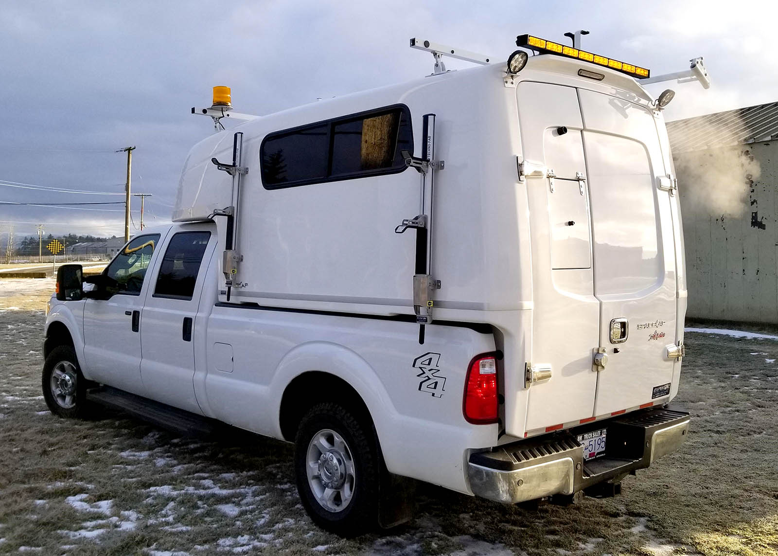 Fiber Optic Splicing Truck Body