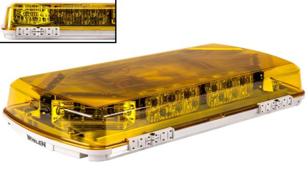 Whelen Mini Century 16 inch Lightbar with Permanent Mounting Kit (Amber)