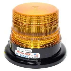 Whelen Super LED Mini Beacon - Permanent Mount (Amber)