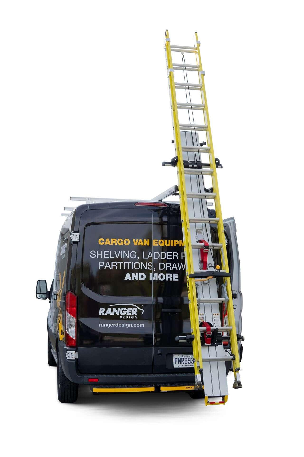 Access Stow Racks - Van Ladder Racks - Ranger Design