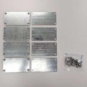 Lifting Plate Kit For SpaceKap Slip In Service Bodies