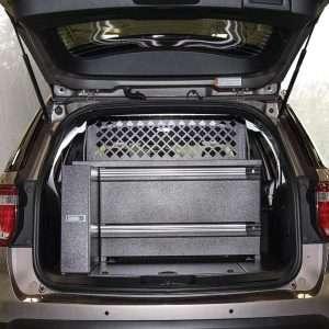 Trooper Long Gun Storage Cargo Box - Fits Ford Interceptors