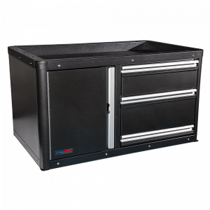 Command 3 Drawer Tactical Storage CopBox - Fits Ford Interceptor, Chevy Tahoe and Dodge Durango