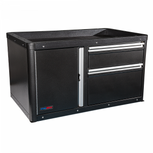 Command 2 Drawer and Door Tactical Storage CopBox - Fits Ford Interceptor, Chevy Tahoe and Dodge Durango