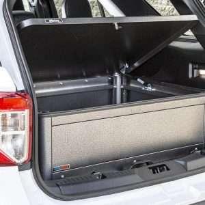 Metro Flip-Lid Tactical Storage CopBox - Fits Ford Interceptor, Chevy Tahoe and Dodge Durango