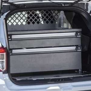 Trooper Two-Drawer Tactical Cargo Box - Fits Ford Interceptors