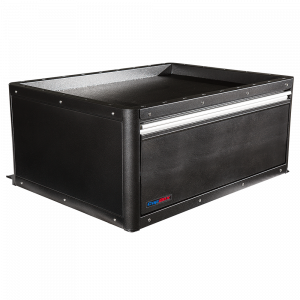 Tactical 1 Drawer CopBox Storage Unit - Fits Ford Interceptor, Chevy Tahoe and Dodge Durango