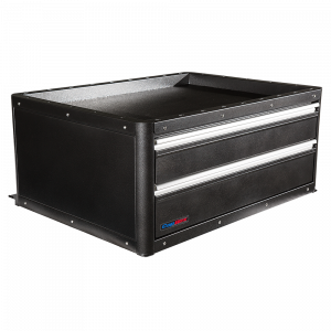 Tactical 2 Drawer CopBox Storage Unit - Fits Ford Interceptor, Chevy Tahoe and Dodge Durango