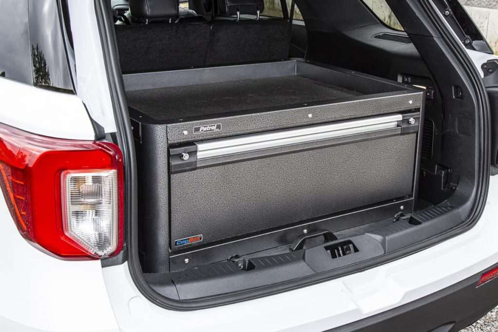The CopBox – A Storage Solution For First Responders