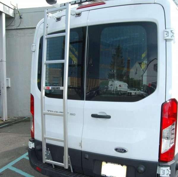 Prime Design Rear Door Ladder for Ford Transit Vans