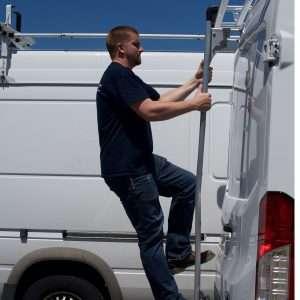 Van Rear Door Ladders